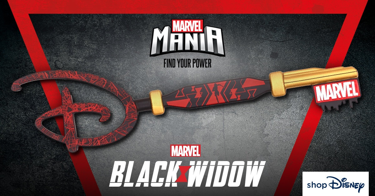 Free BLACK WIDOW Key When You Spend £20 At ShopDisney