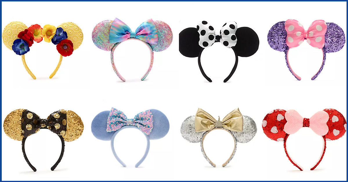 More Walt Disney World Ears Added To ShopDisney