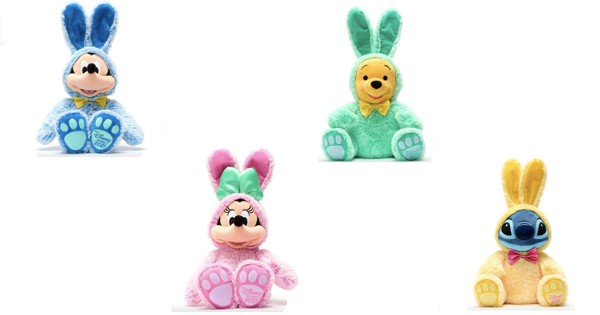 New Disney Character Easter Soft Toys Now Available