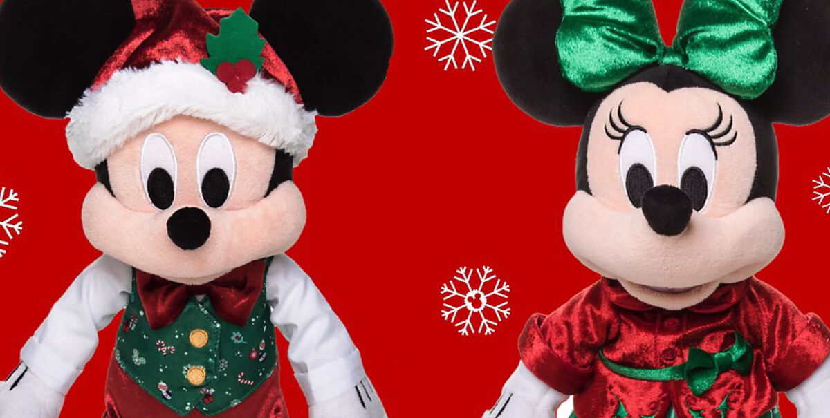 Get A Free Mickey Or Minnie Plush With A £60 Shop