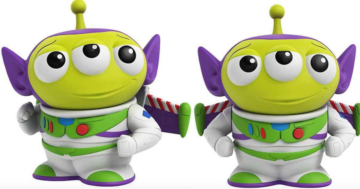 New Green Alien In Buzz Lightyear Costume Toy