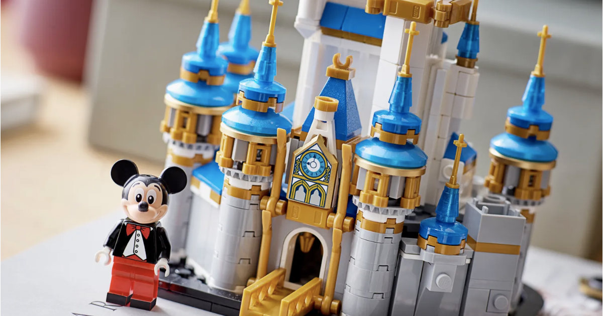 Lego Mini 50th Anniversary Castle Now Back In Stock