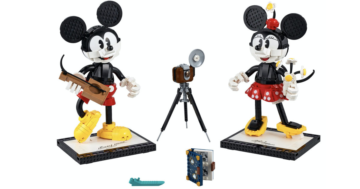 New Mickey Mouse & Minnie Lego Set