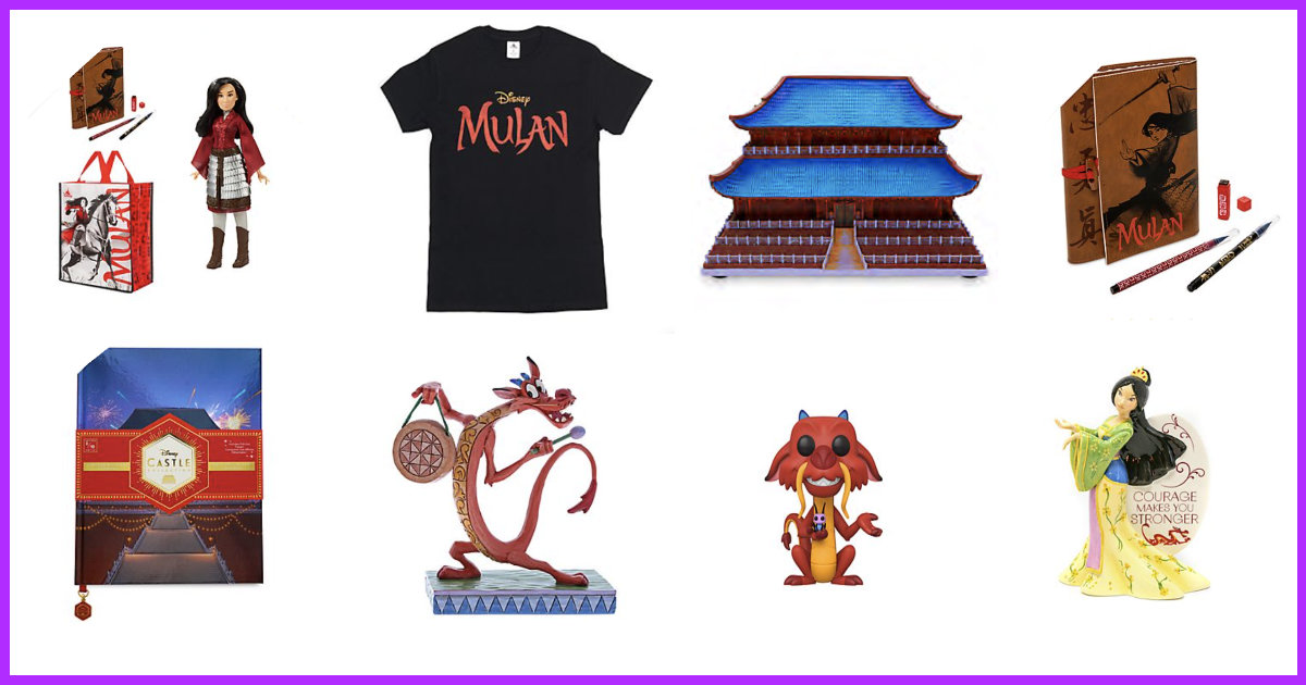Huge New Mulan 2020 Collection Now Available