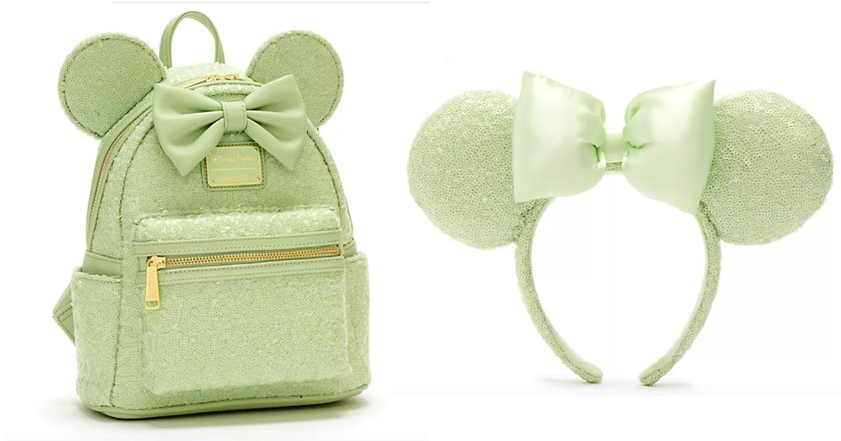 New Walt Disney World  Mint Sequin Collection On ShopDisney