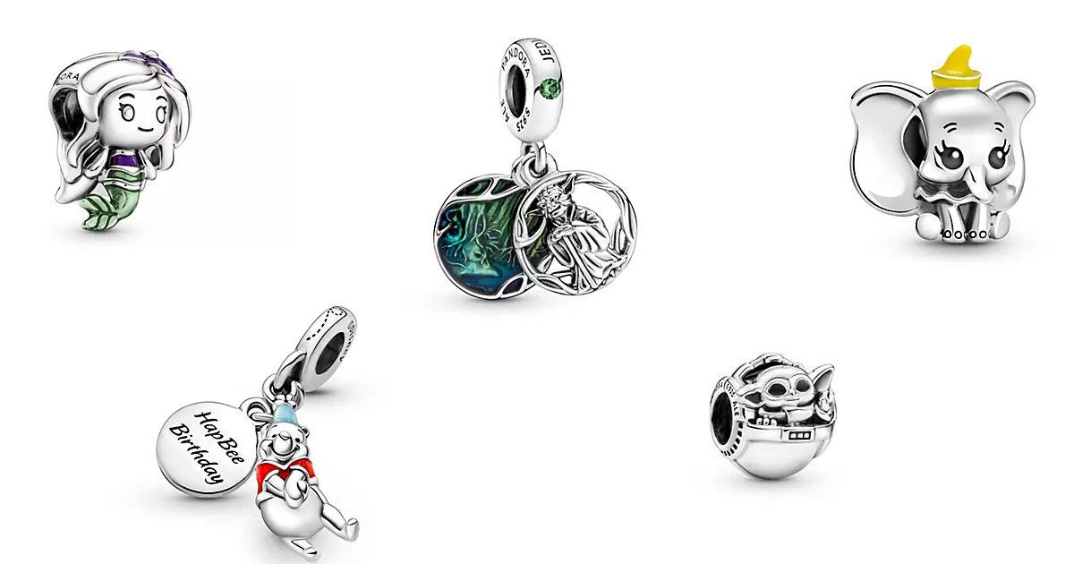 3 For 2 Disney Pandora Charms On ShopDisney