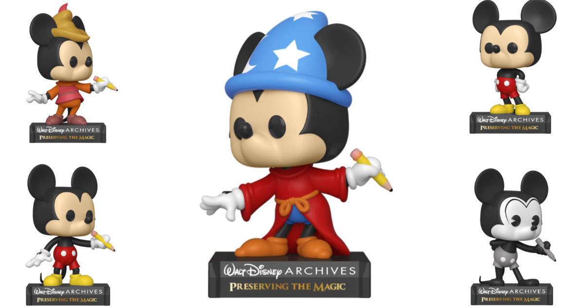 New Preserving The Magic Funko POP Mickey Collection