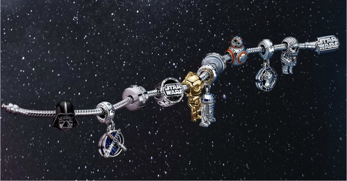 New Star Wars Pandora Collection
