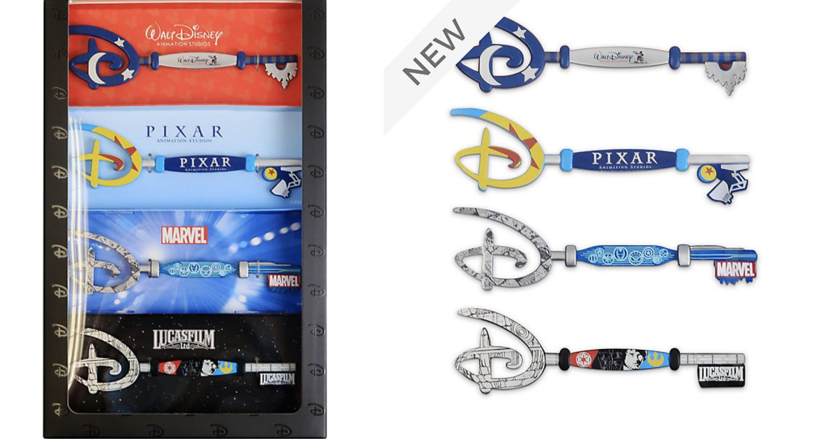 Limited Edition ShopDisney Studio Key Set Now Available