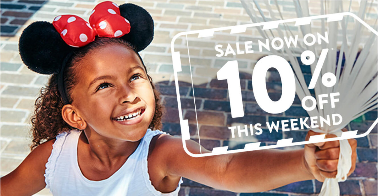 10% Off Disney World This Weekend