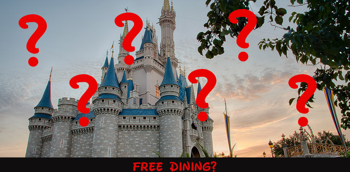 Where Is The 2020 Disney World Free Dining Offer?