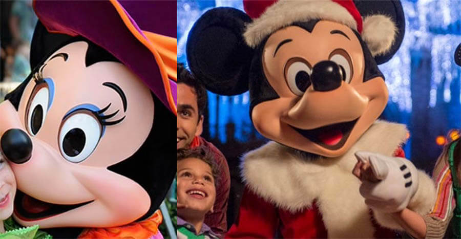Magic Kingdom Halloween And Christmas Party 2017 Guide