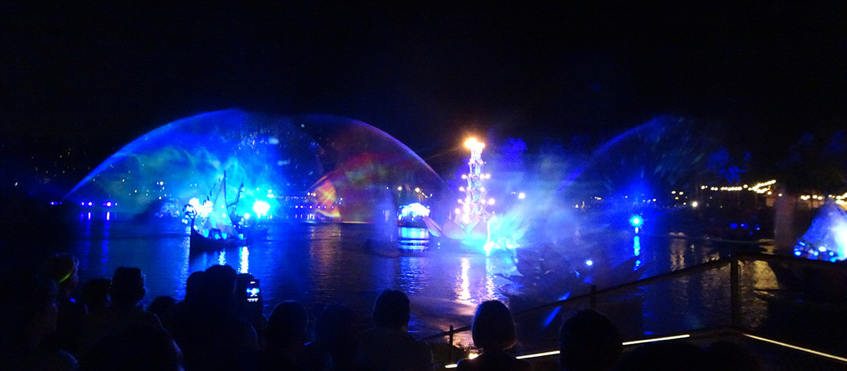 How The Rivers Of Light Dining Package Works