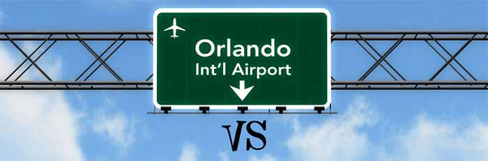 Sanford Vs Orlando International Airports