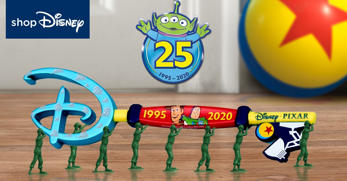 FREE Toy Story 25th Anniversary Opening Ceremony Key With £20 Spend