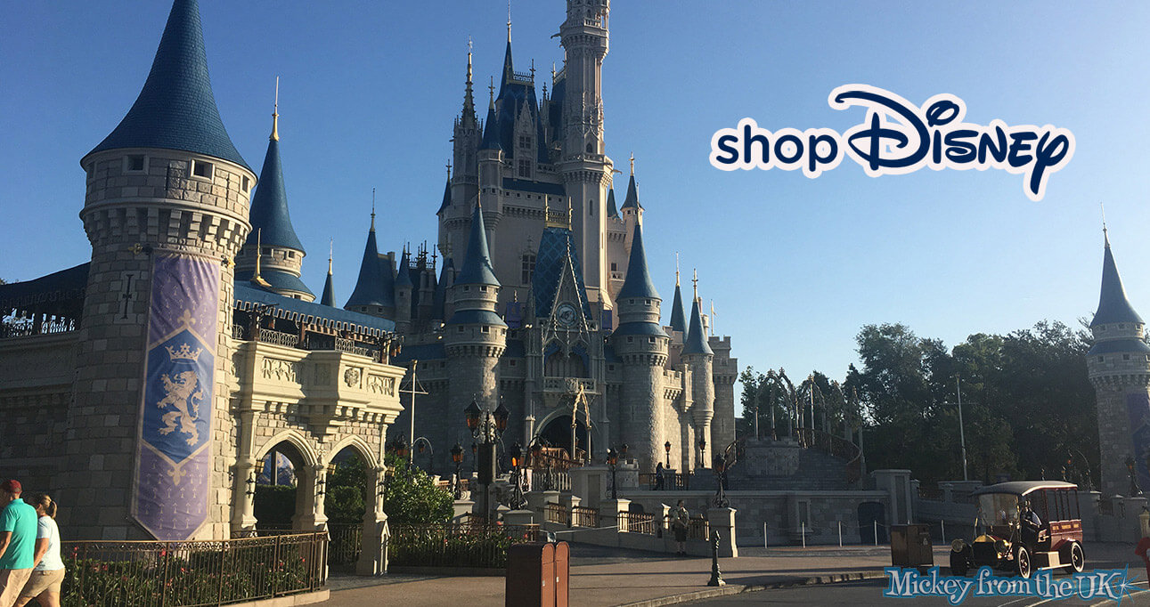 Does shopDisney Sell Disney World and USA Merchandise?