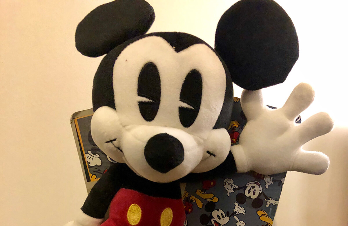 Mickey Mouse 90th Birthday Posh Paws Plush