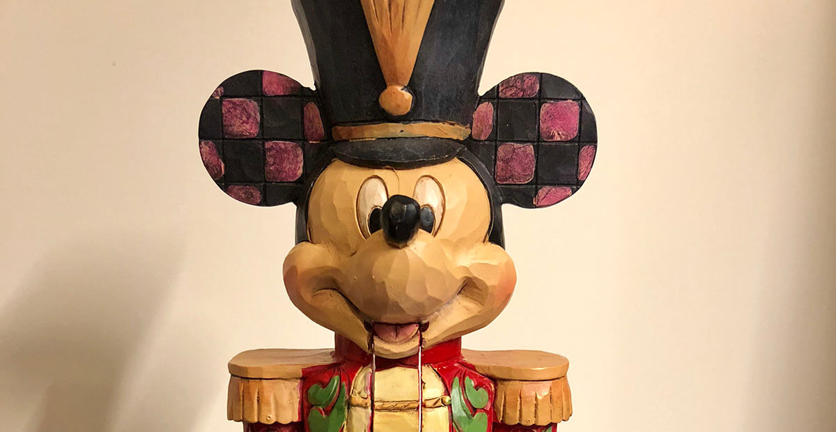 Disney Traditions Jim Shore Mickey Mouse Stalwart Soldier