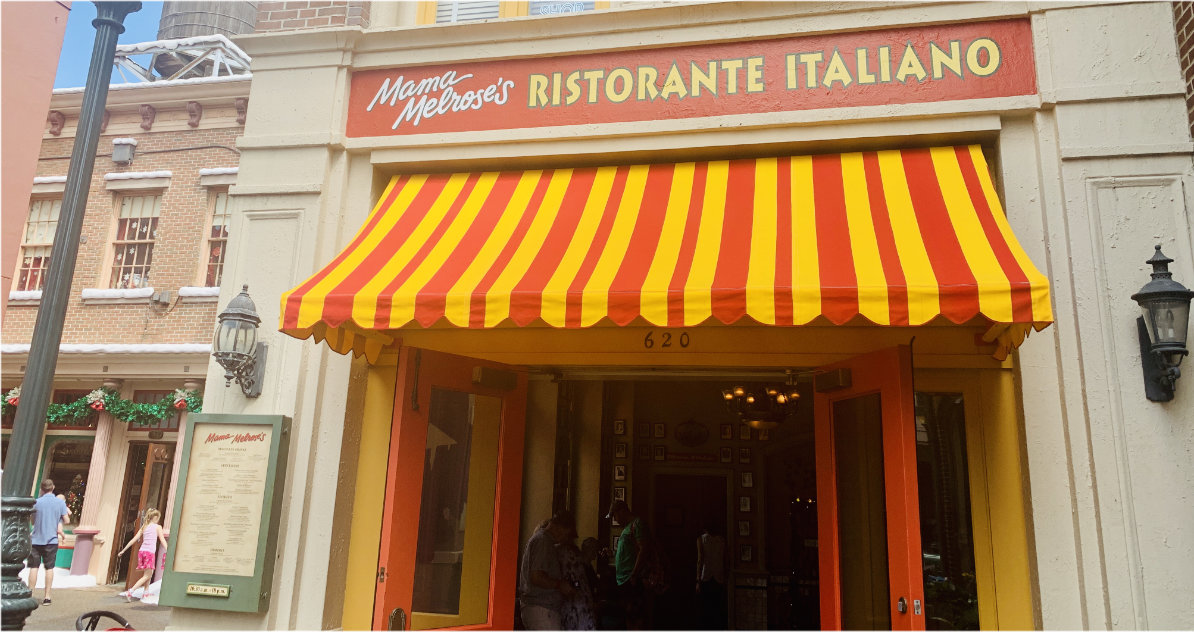Mama Melrose Ristorante Italiano Hollywood Studios Review